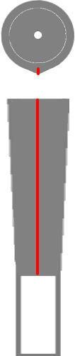 バックラインの位置4