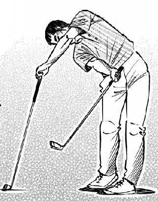 ゴルフ 左の壁とスイング軸作りの練習方法。ヘッドアップ防止、スエー防止にもつながる