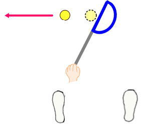 スライス・フック防止しながら理想スイングも手に入る!偽ボールショットでゴルフナイスショット!