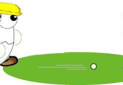 ゴルフはパターで決まり。