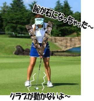 ゴルフのバックスイング開始