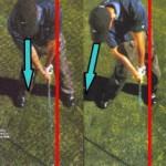 1秒でできるゴルフの軸その2!上達体感法でビハインドザボール