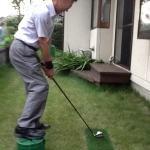特別費用0円!ゴルフ練習場のカゴを使ってゴルフ実践上達練習法