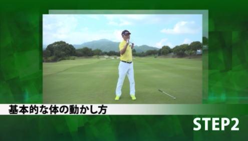 100切りゴルフパーフェクトマスタープログラムの体の動き方レッスン