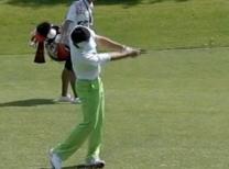ライン出し ゴルフスイング上達