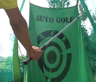 ゴルフでライン出し!後編。尾崎将司の手首/リストを真似る?