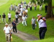 日本一の尾崎将司プロゴルファー ライン出し