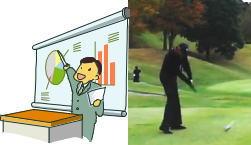 20秒で上達!初心者にも効くゴルフ精神安定剤?練習場ルーティーン