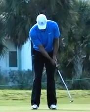ゴルフパット練習法