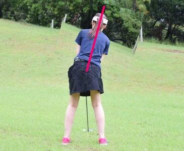 ゴルフのスライス・フックのお悩みは、背中を気にして一挙解決!!