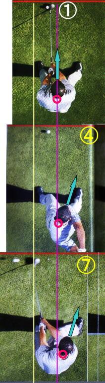 ゴルフの頭を動かさないの謎2つ。動かないゴルフの頭の位置はどこ?タイガーで検証