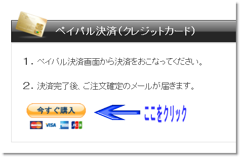 PayPal画面
